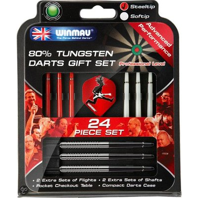 Winmau 80% Tungsten Darts Gift Set
