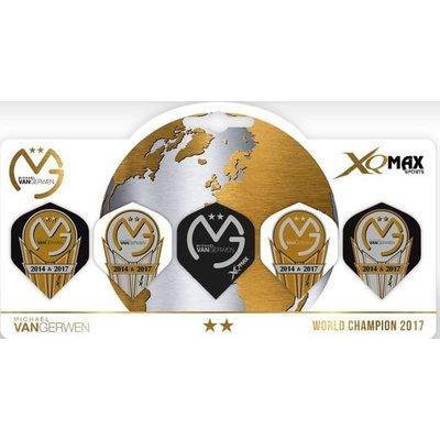 XQMax Michael van Gerwen W.C. 2017 Flights 5pack