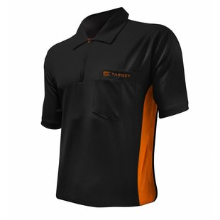 Target Cool Play Hybrid Shirt Black Orange
