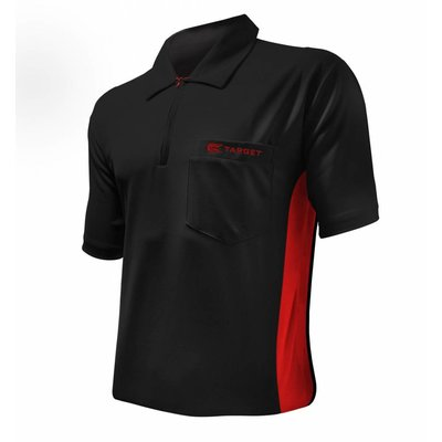 Target Cool Play Hybrid Shirt Black Red