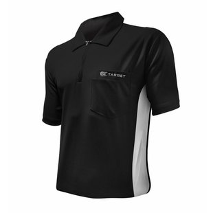 Target Cool Play Hybrid Shirt Black White