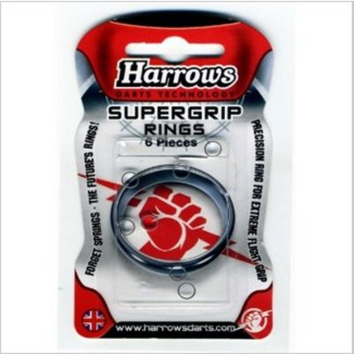Harrows Supergrip Rings 6 Stuks