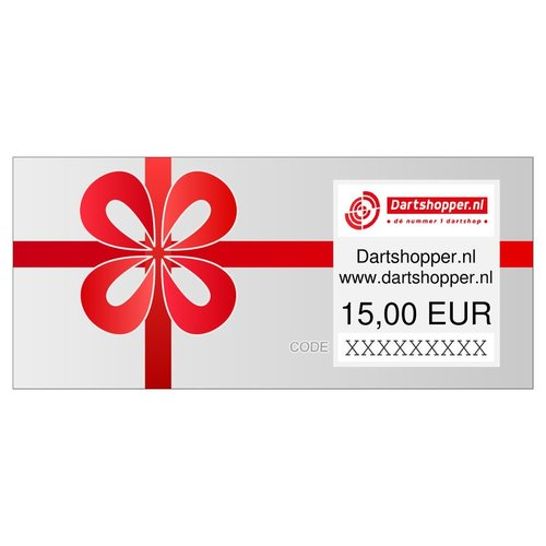 Dartshopper.nl Dartshopper Cadeaubon