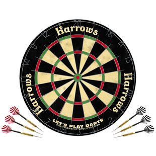 Harrows Let's Play Dartset