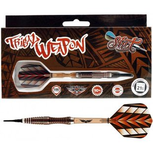 Shot! Tribal Weapon 2 Centre-Weight 90% Soft Tip