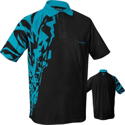 Harrows Rapide Aqua Blue Dartshirt