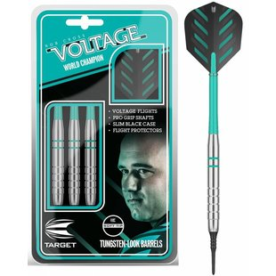 Target Rob Cross Silver Voltage Soft Tip