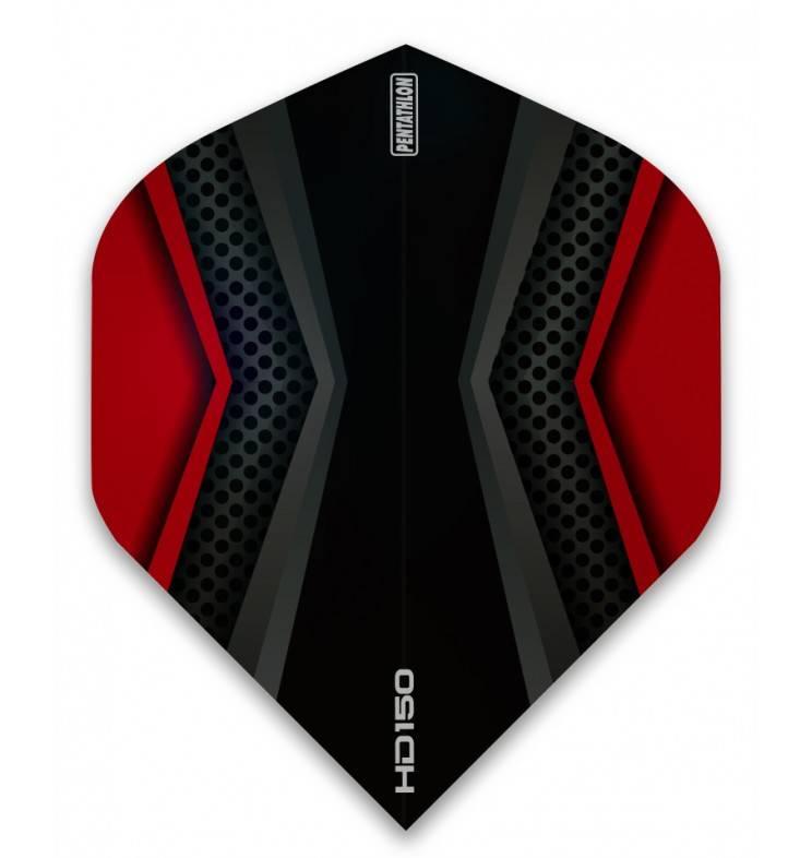 Pentathlon HD150 Black-Red