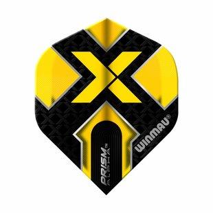 Winmau Prism Alpha Black & Yellow