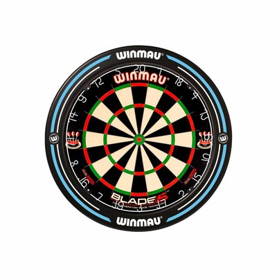 Winmau Pro-50 Slim Printed Blue Surround
