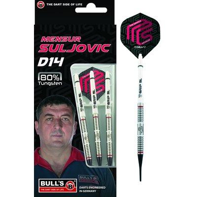 Bull's Mensur Suljovic D14 80% Soft Tip