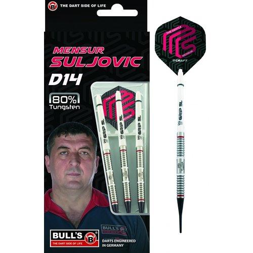 Bull's Germany Bull's Mensur Suljovic D14 80% Soft Tip