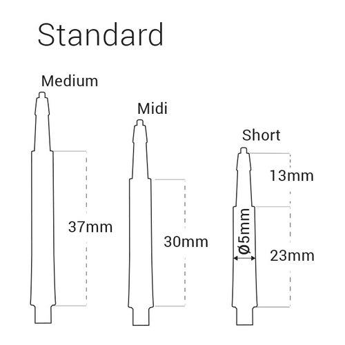 Harrows Harrows Clic System Standard Shafts Clear