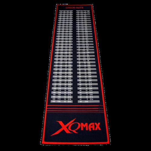 XQMax Darts XQMax Check Out Dartmat Red/Black