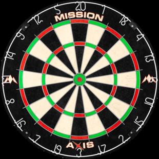 Mission Axis Dartbord