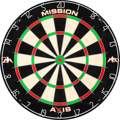 Mission Axis Dartbord