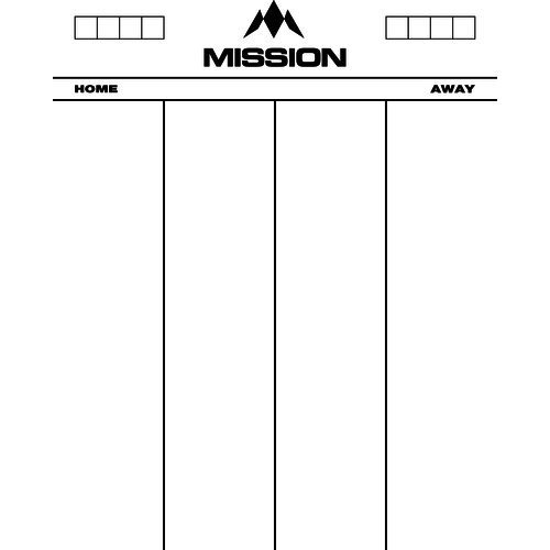 Mission Mission Whiteboard 501 - 50x40 cm