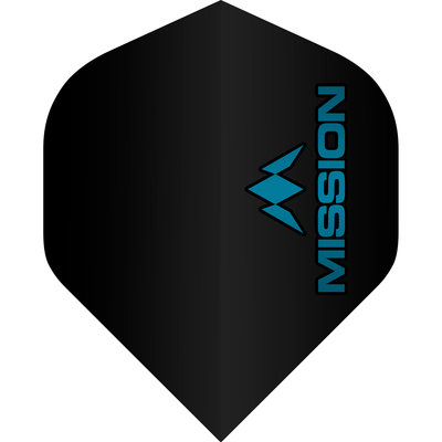 Mission Logo Std No2 Black & Blue