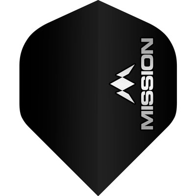 Mission Logo Std No2 Black & Grey