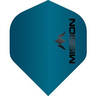 Mission Logo Std No2 Matte Blue