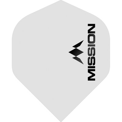 Mission Logo Std No2 Matte White