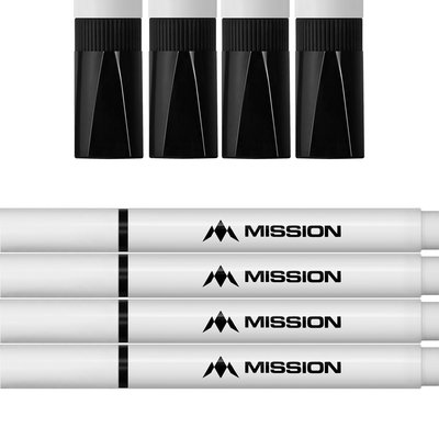 Mission Whiteboard Marker - Zwart