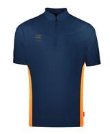 Target Coolplay Collarless Shirt Vinyl Dark Blue/Orange
