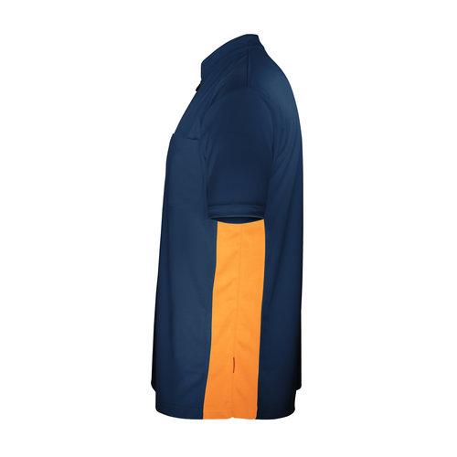Target Target Coolplay Collarless Shirt Vinyl Dark Blue/Orange