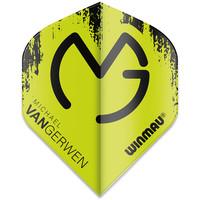 Winmau Michael van Gerwen Mega Standard Flight Green