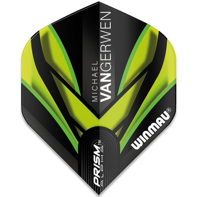 Michael van Gerwen Prism Alpha Black Green Flight V2