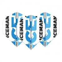 Red Dragon Gerwyn Price - White & Blue Logo