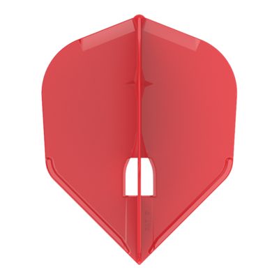 L-Style Champagne Flight L3 Shape Solid Red