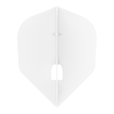 L-Style Champagne Flight Shape Solid White