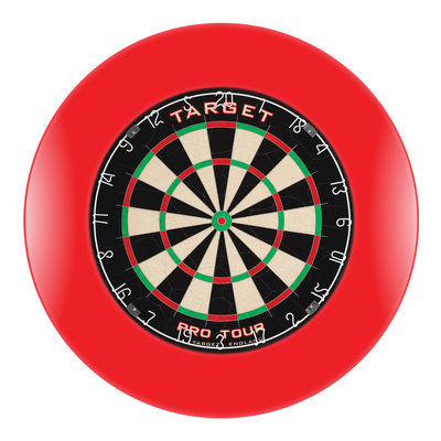 Target Pro Tour Dartbord Set Red