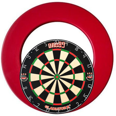 One80 Gladiator 3 Surround Set Red
