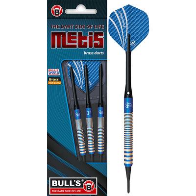 BULL'S Metis Brass Blue Soft Tip