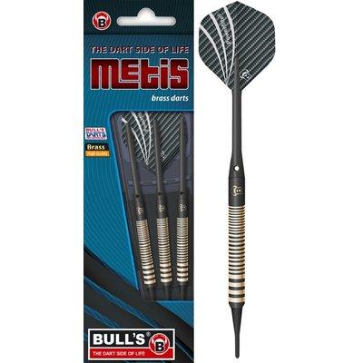 BULL'S Metis Brass Black Soft Tip
