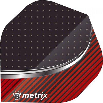 BULL'S Metrix Stripe Red
