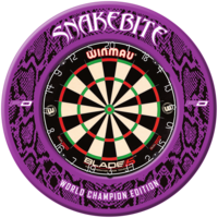 Red Dragon Snakebite World Champion 2020 Dartboard Surround
