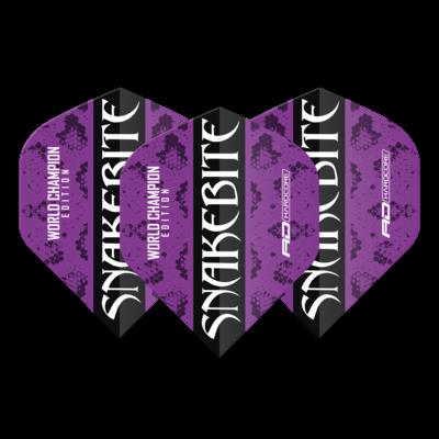 Snakebite World Champion 2020 Purple Flights