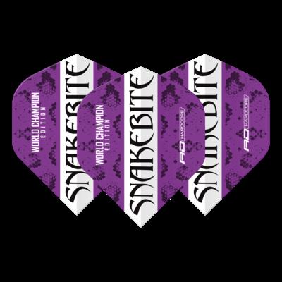 Snakebite World Champion 2020 Purple & White Flights