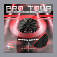 Target Target Pro Tour Dartboard Surround Black