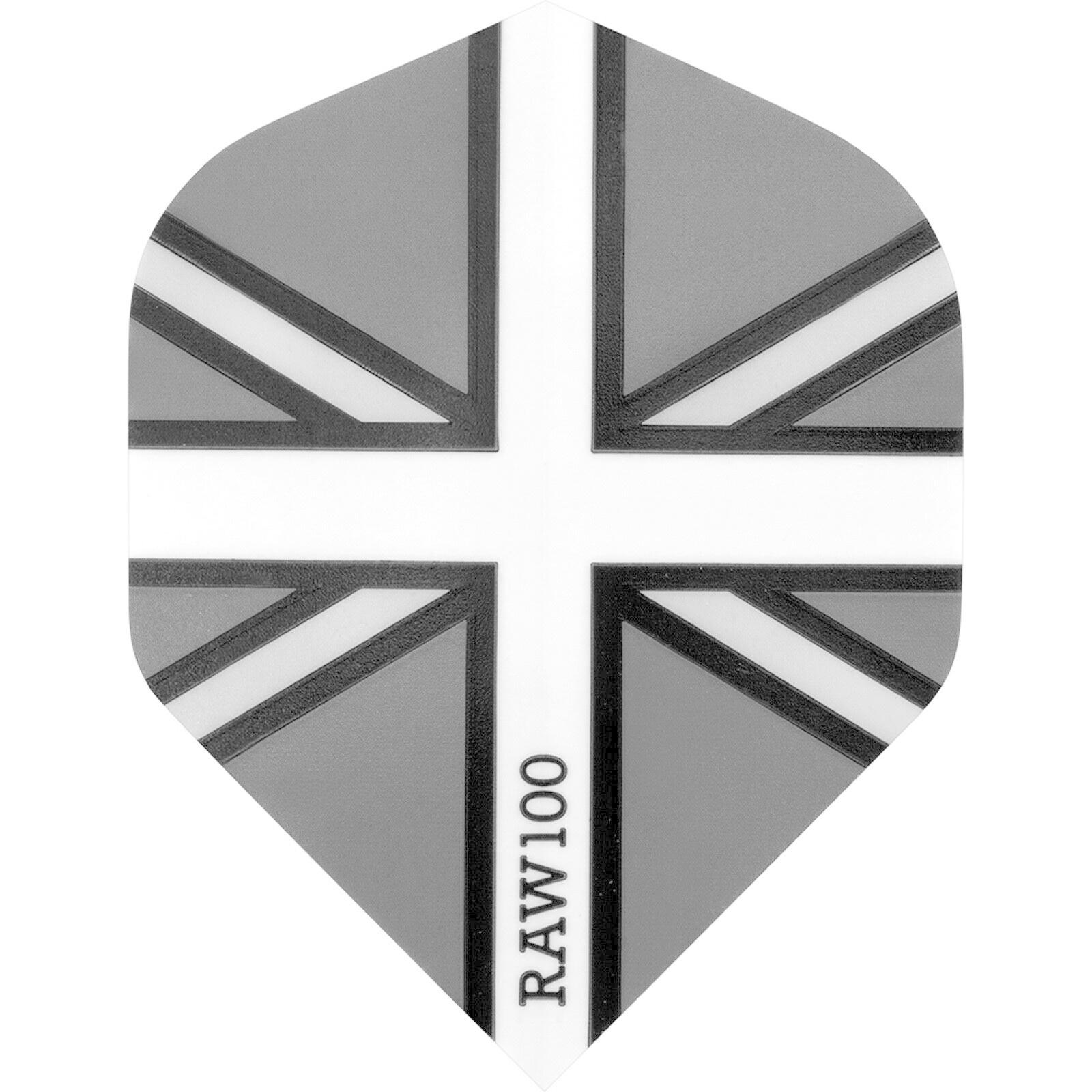 RAW 100 Union Jack Flight Black & Grey