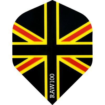 RAW 100 Union Jack Flight Black Red & Yellow