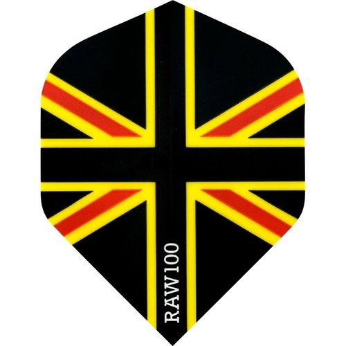 RAW RAW 100 Union Jack Flight Black Red & Yellow
