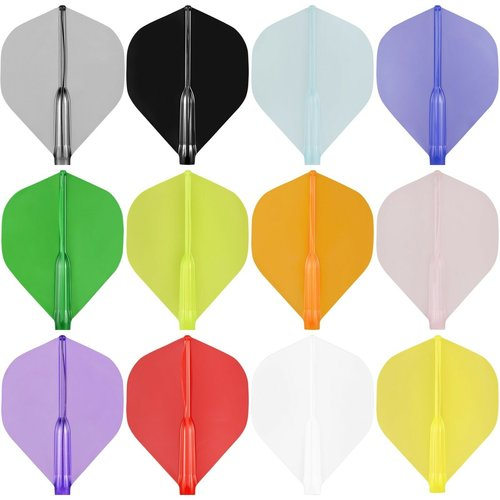 Cosmo Darts Cosmo Darts - Fit Flight AIR Clear Black Standard