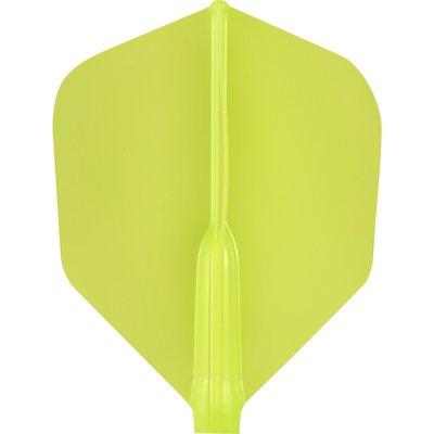 Cosmo Darts - Fit Flight AIR Light Green Shape