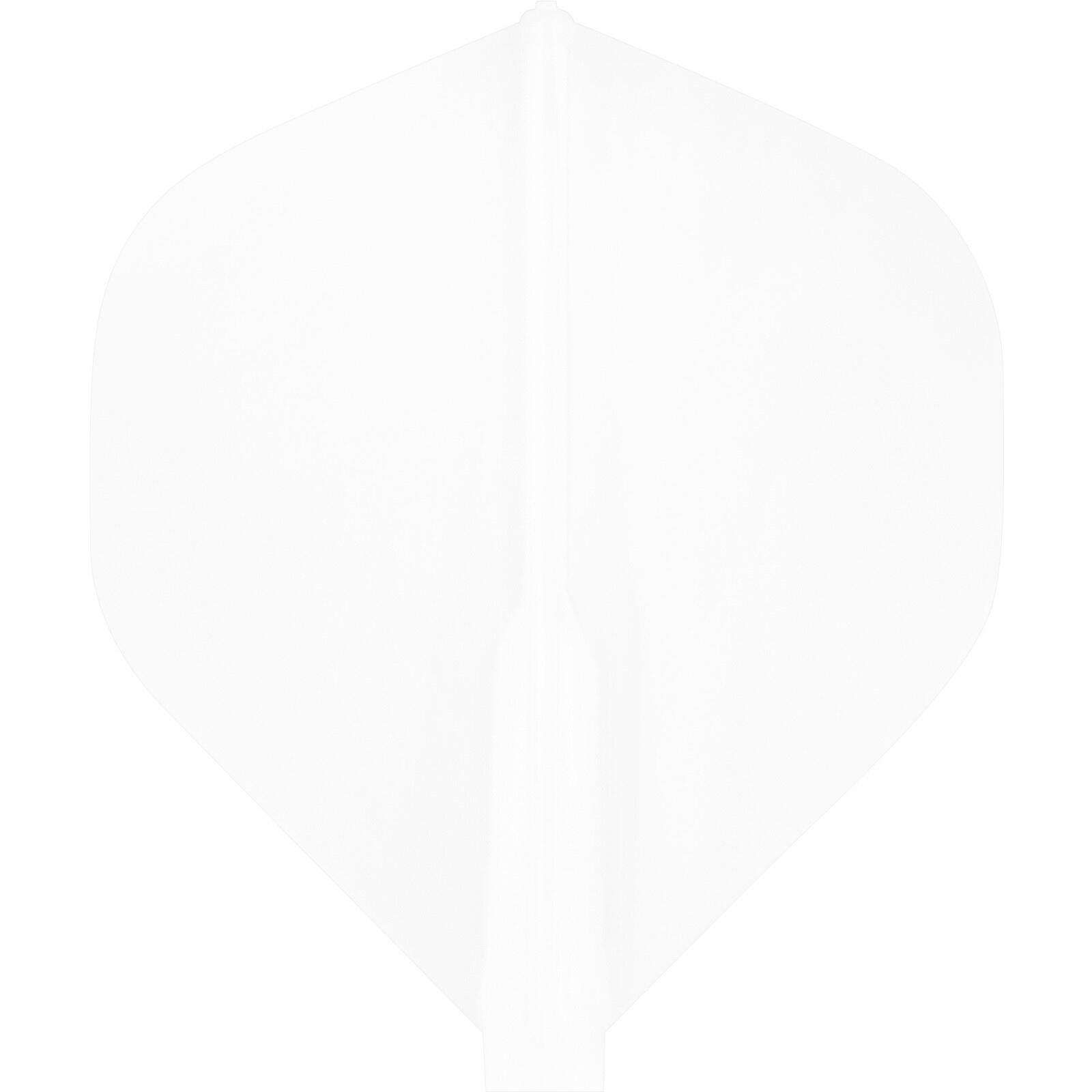 Cosmo Darts - Fit Flight White Standard
