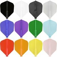 Cosmo Darts Cosmo Darts - Fit Flight Dark Black Shape