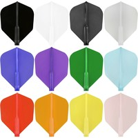 Cosmo Darts Cosmo Darts - Fit Flight Clear Blue Shape